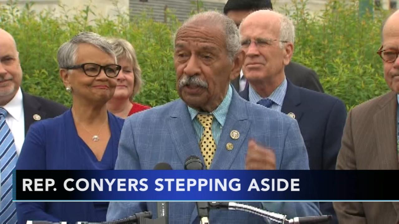 Conyers steps aside