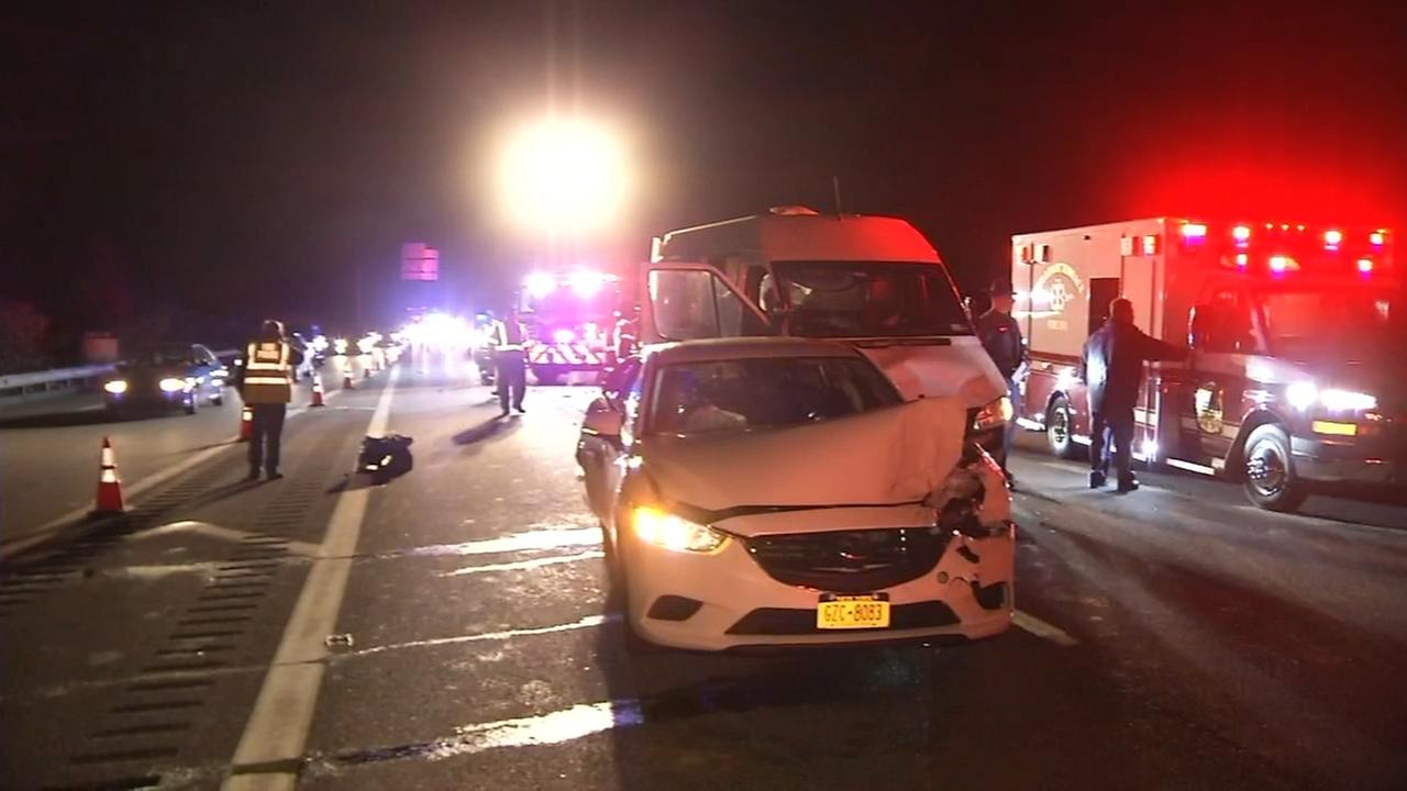 Woman, 80, injured in crash on I-495 in New Castle