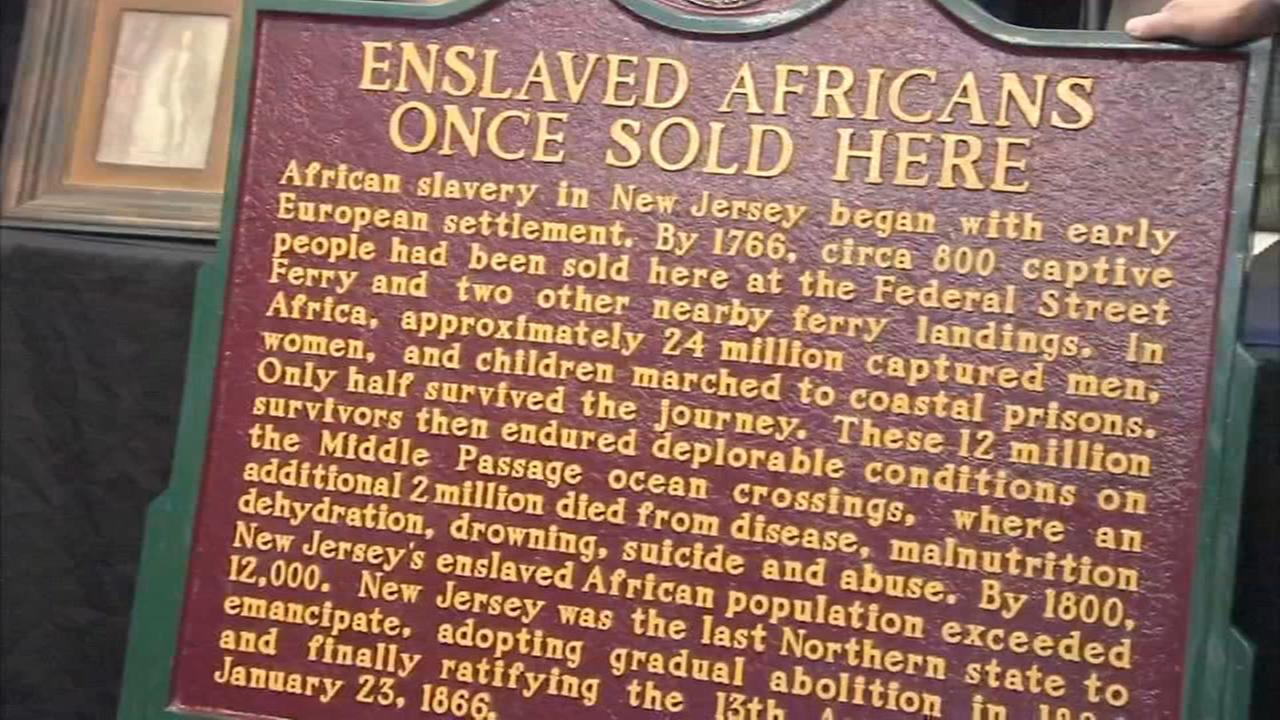 Slave trade monument unveiled in Camden