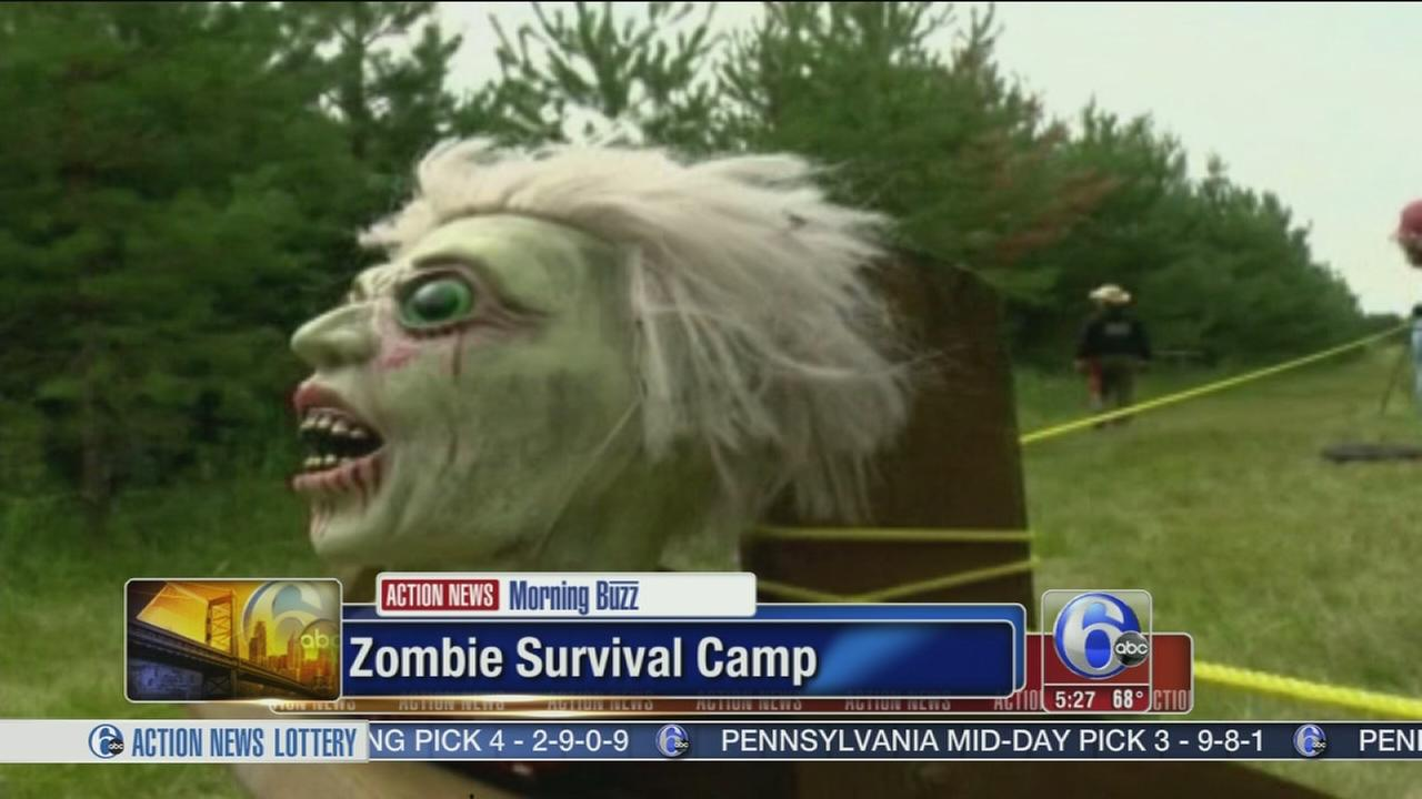 VIDEO: Zombie attack 3-Day survival course