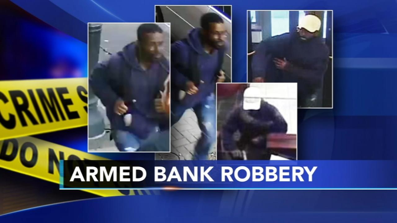 Police search for Center City bank robber