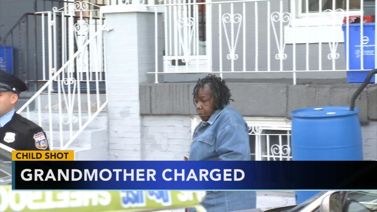 Grandmother charged after child shoots self