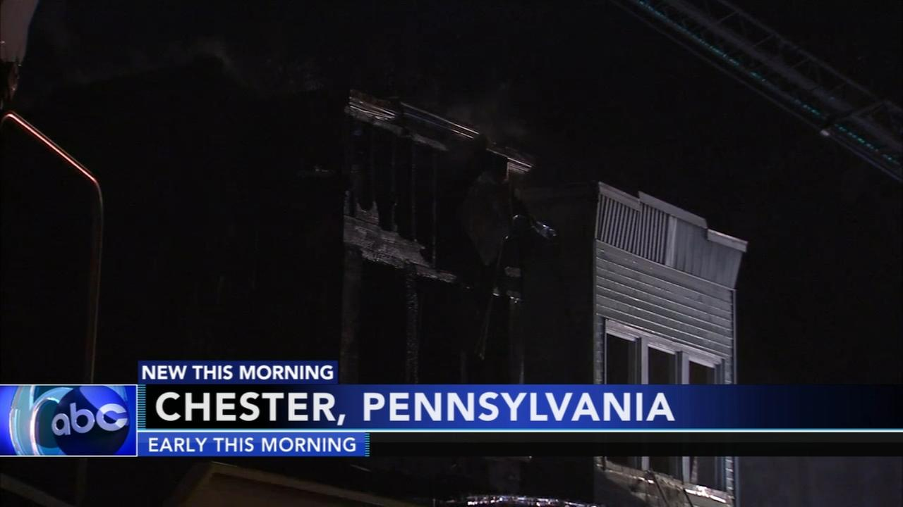 Firefighter injured in Chester fire
