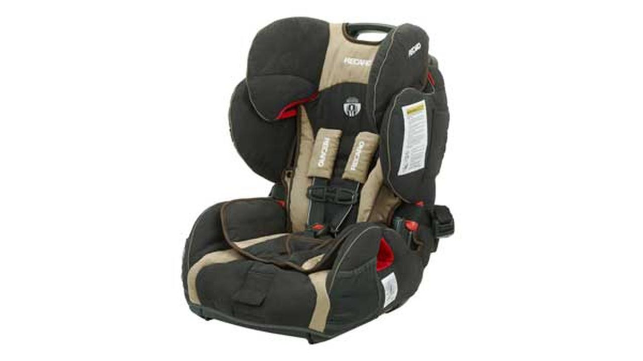 Recaro is recalling more than 39,000 ProSport child safety seats because they can let a childs head move too far in a crash.
