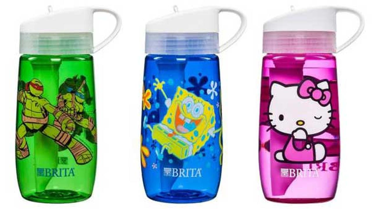 Brita is recalling approximately 242,500 childrens water filter bottles due to a possible laceration hazard.
