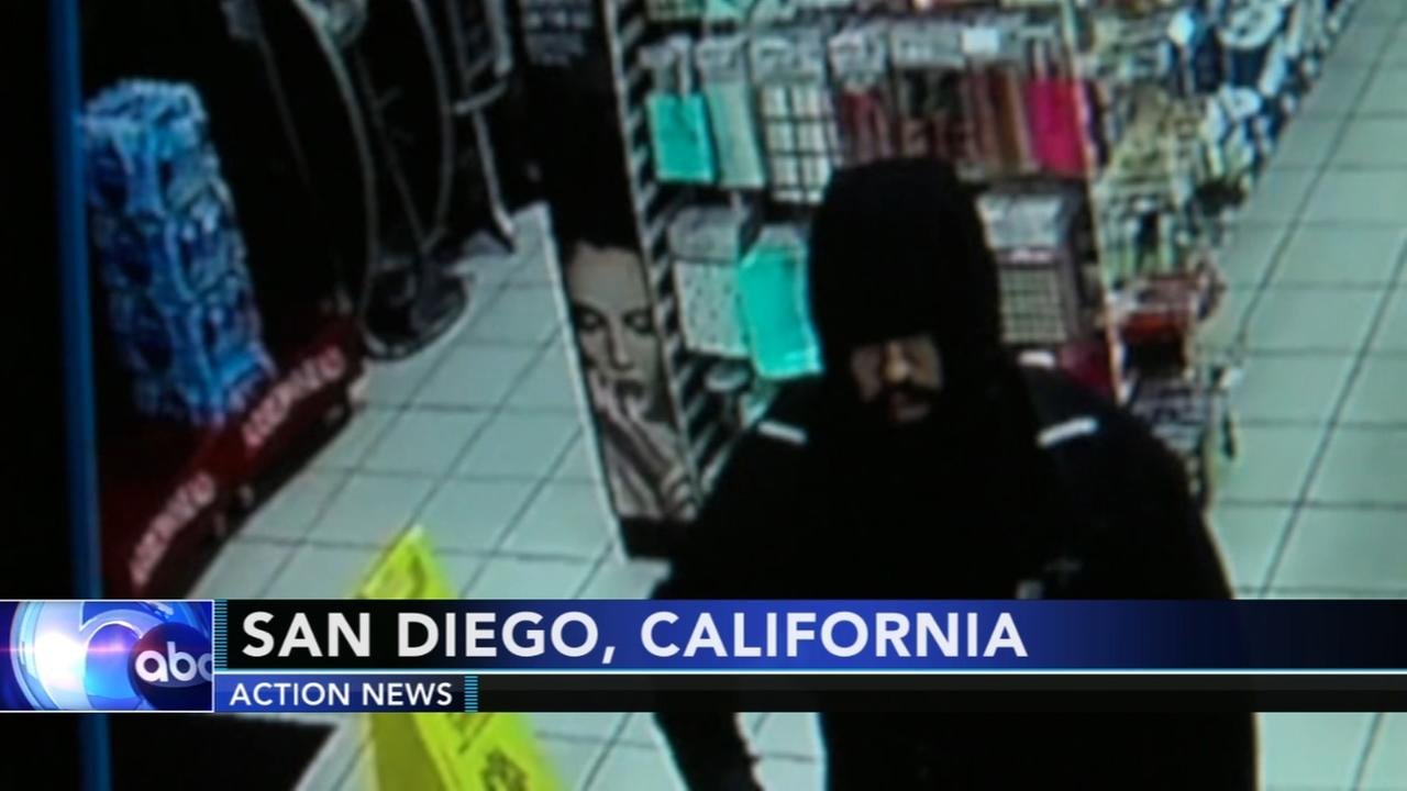 Store Clerk says no to armed robber in San Diego