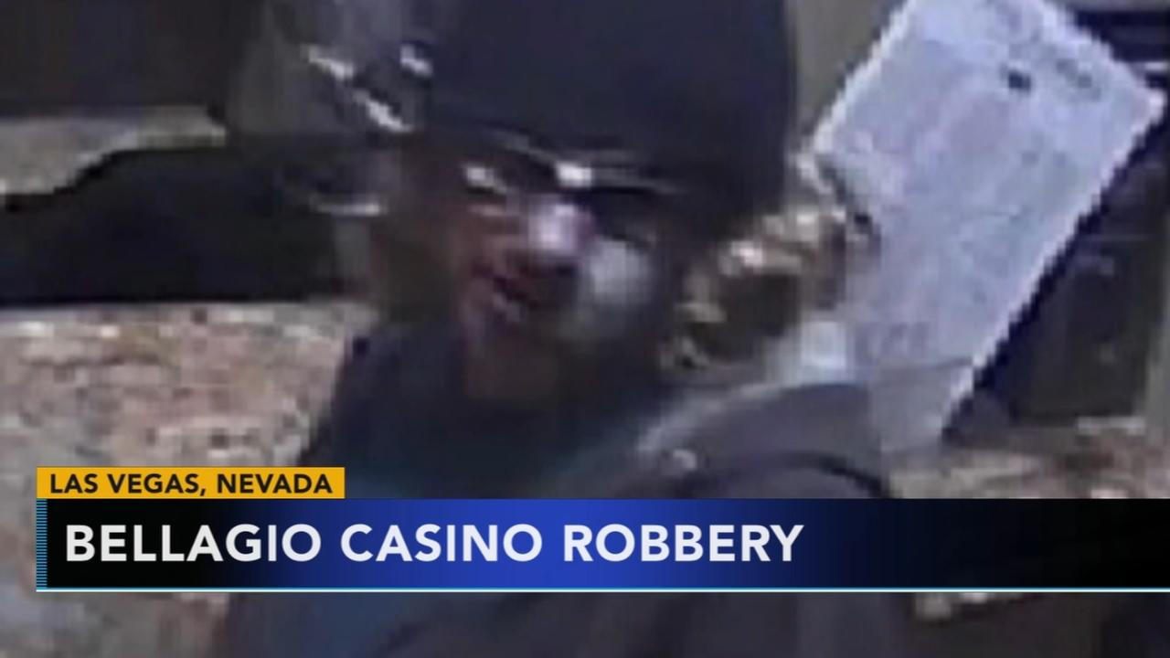 Armed robber holds up Bellagio casino