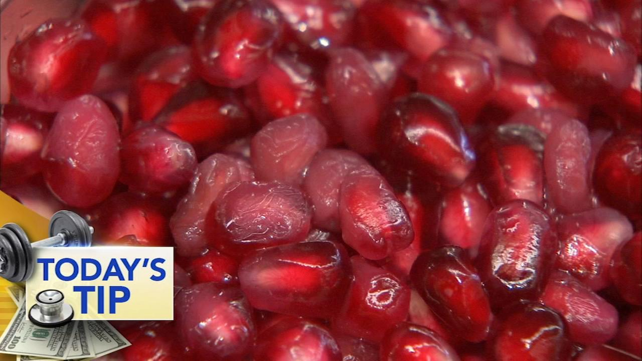 Pomegranates for the holidays - Todays Produce Tip