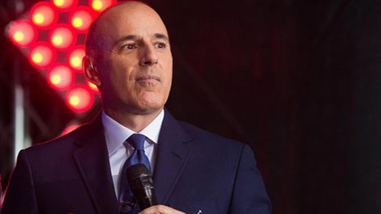 Matt Lauer appears on NBCs Today show at Rockefeller Plaza on Friday, July 29, 2016, in New York.