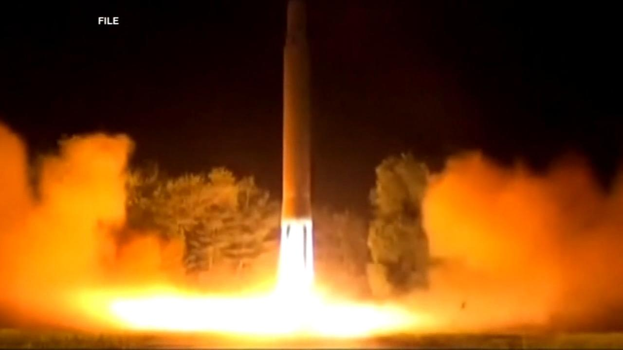 N. Korea fires ICBM it says is significantly more powerful