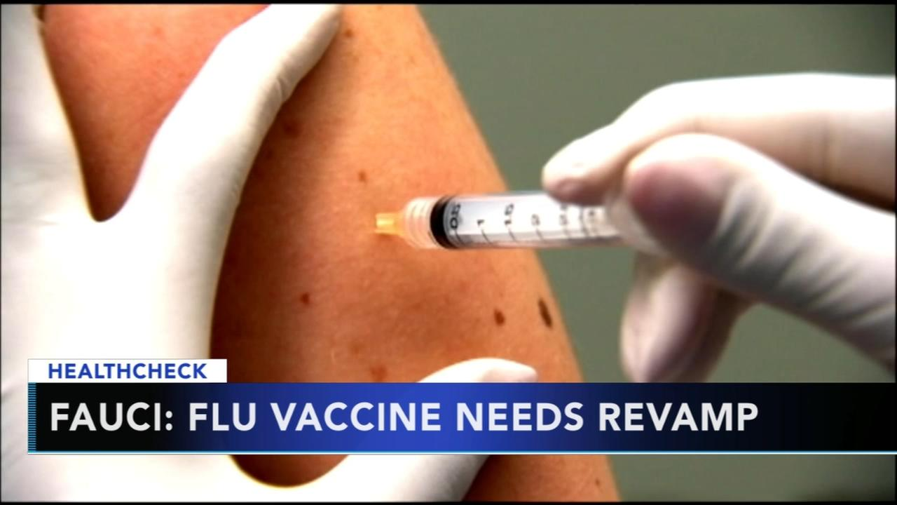 Top infectious disease doctor calls for new flu vaccines