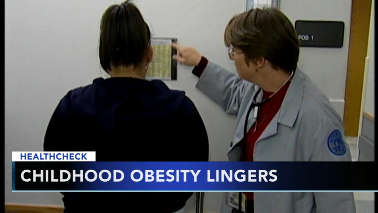 Effects from childhood obesity can linger into adulthood