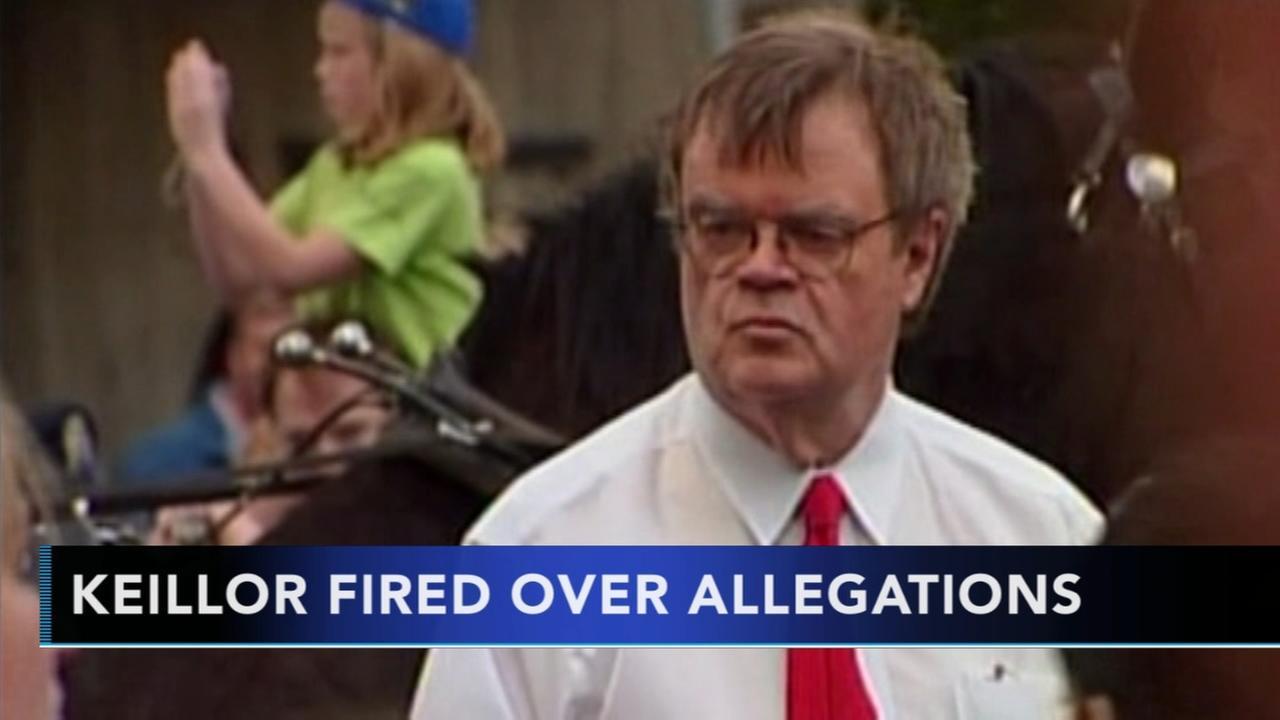 Garrison Keillor fired over alleged improper behavior