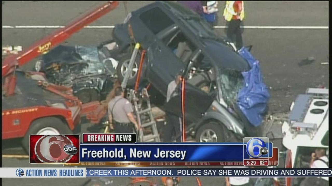 VIDEO: 3 dead in Freehold, N.J. crash