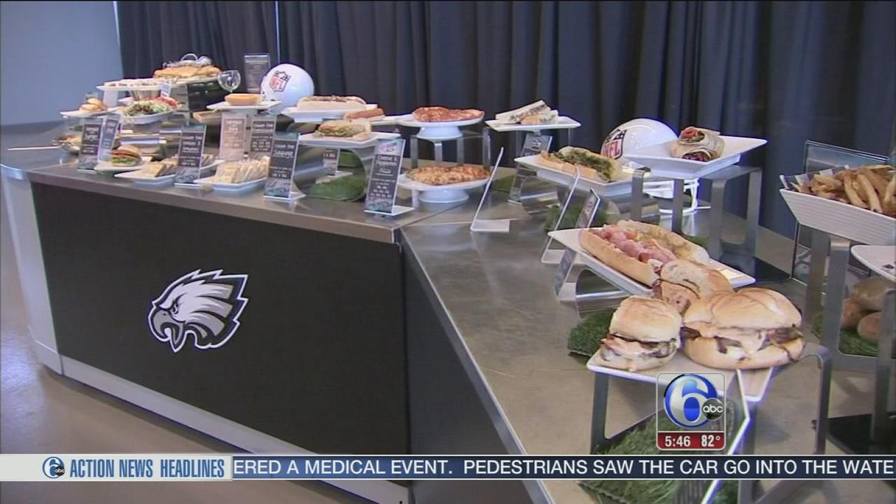 VIDEO: Eagles food preview