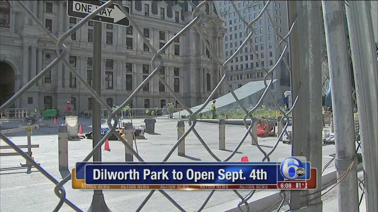 VIDEO: Dilworth Park to open Sept. 4th