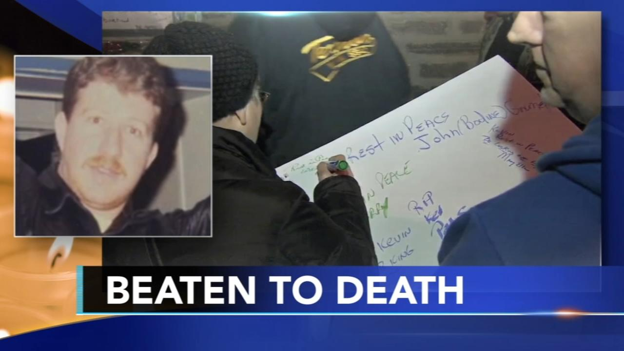 Vigil held for man beaten to death in Mayfair