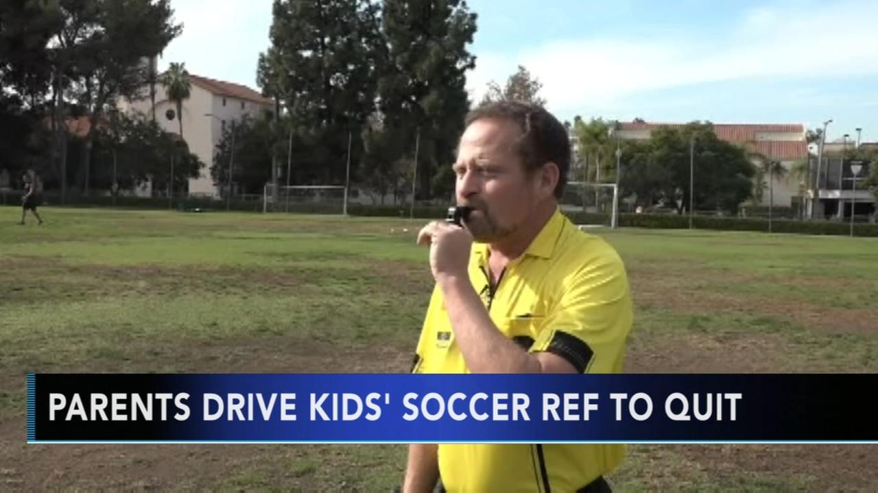 Youth soccer coach quits over parents