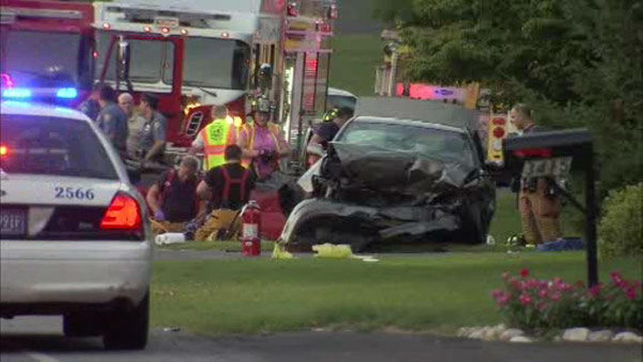 PHOTOS: Fatal crash in Huntingdon Valley, Pa.