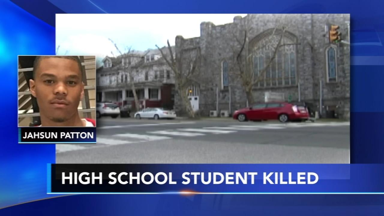 High school student killed