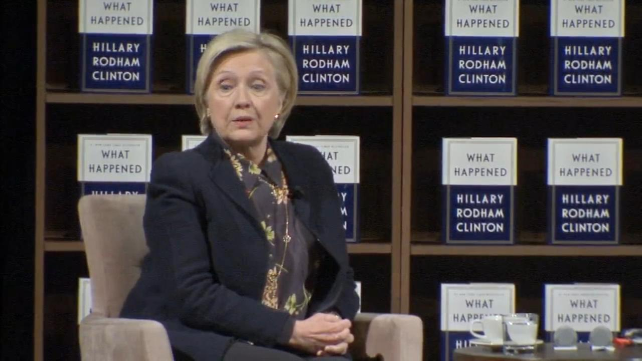 Clintons book tour stops in Philly