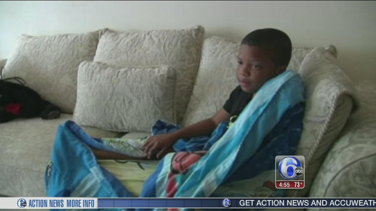 VIDEO: Boy shocked, knocked off couch in Georgia