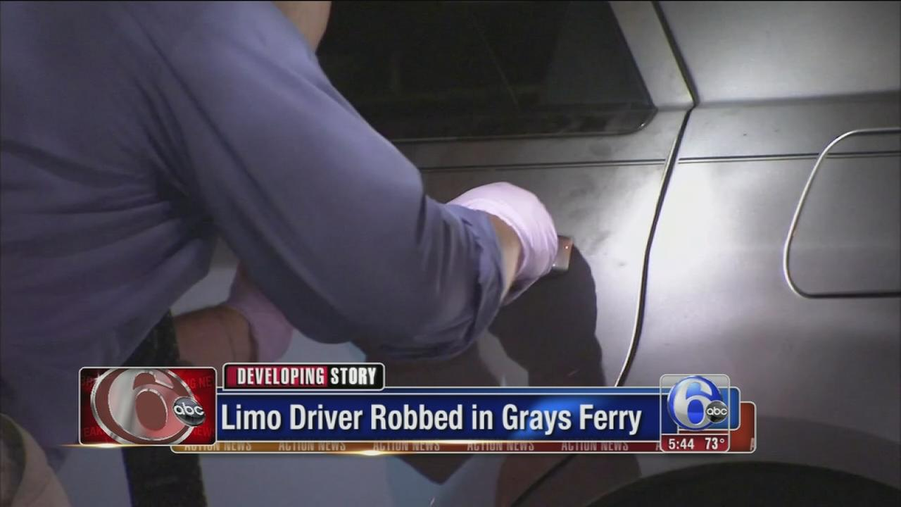 VIDEO: Limo driver held-up at gunpoint in Grays Feery