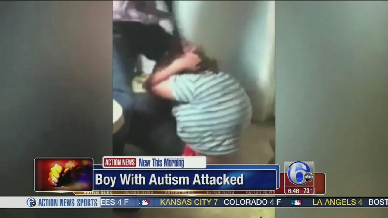 VIDEO: Autistic teen attacked on camera