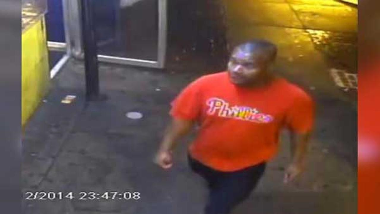 Suspect sought for robbery in Philadelphias Frankford neighborhood.