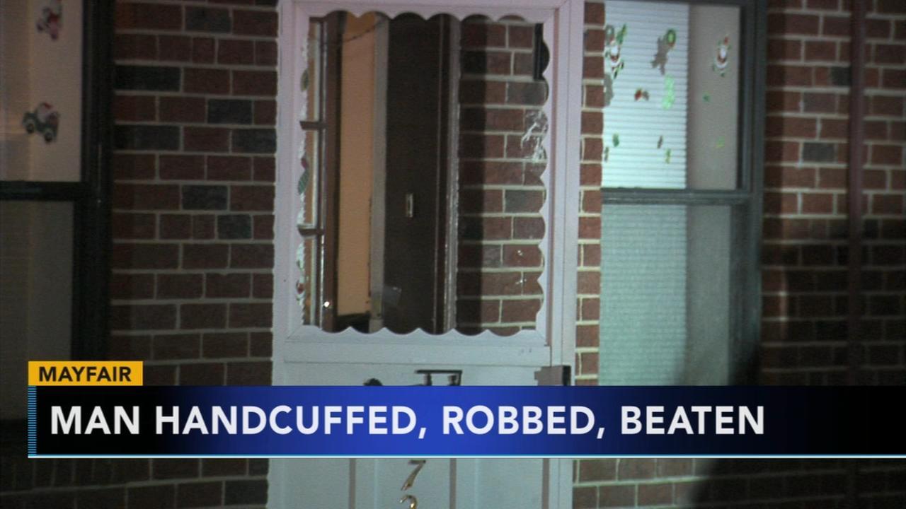 Man beaten, robbed during NE Philadelphia home invasion