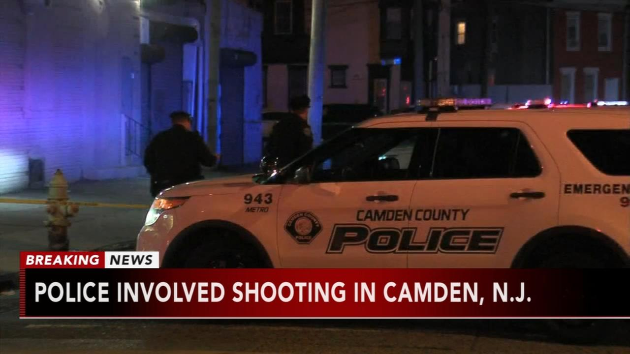 Police-involved shooting in Camden