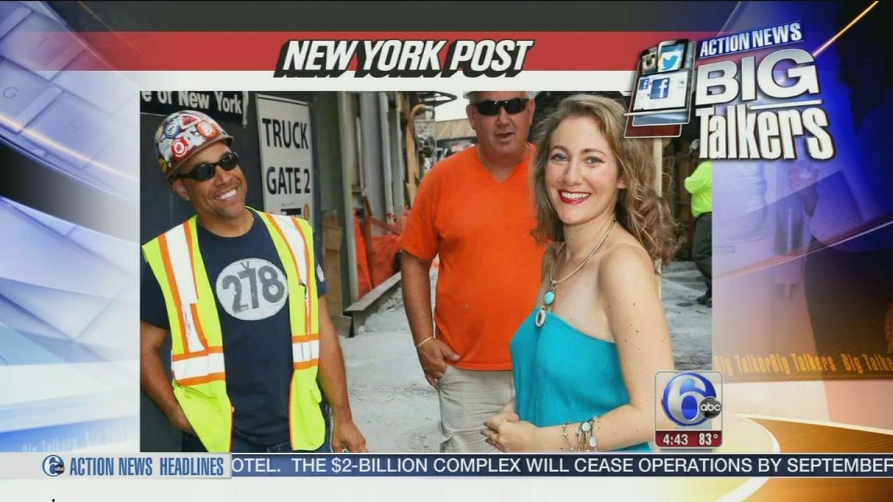 VIDEO: Woman defends catcalls from men