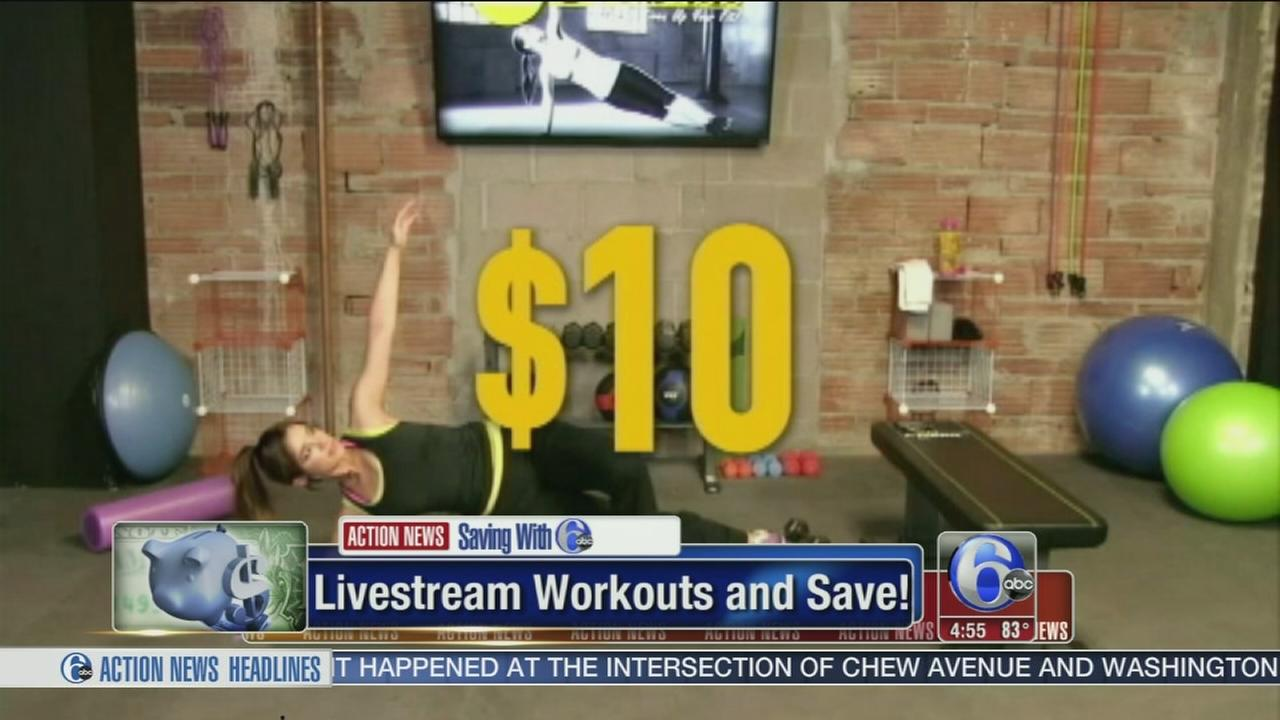 VIDEO: Save on workouts, laundy
