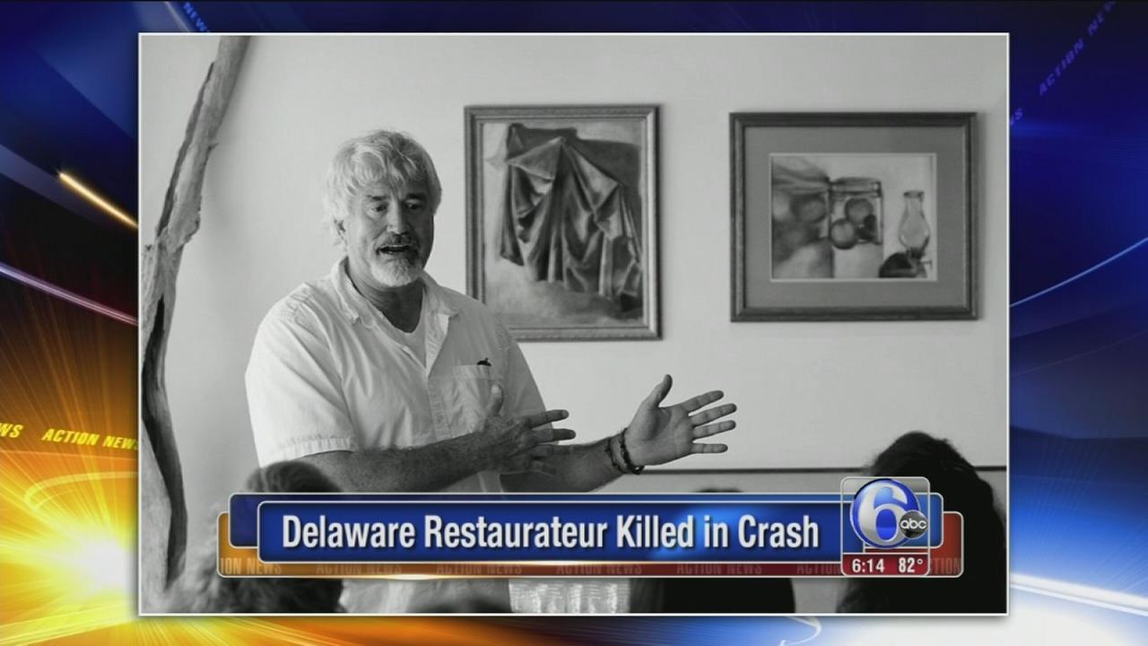 VIDEO: Del. restaurateur dies after motorcycle accident
