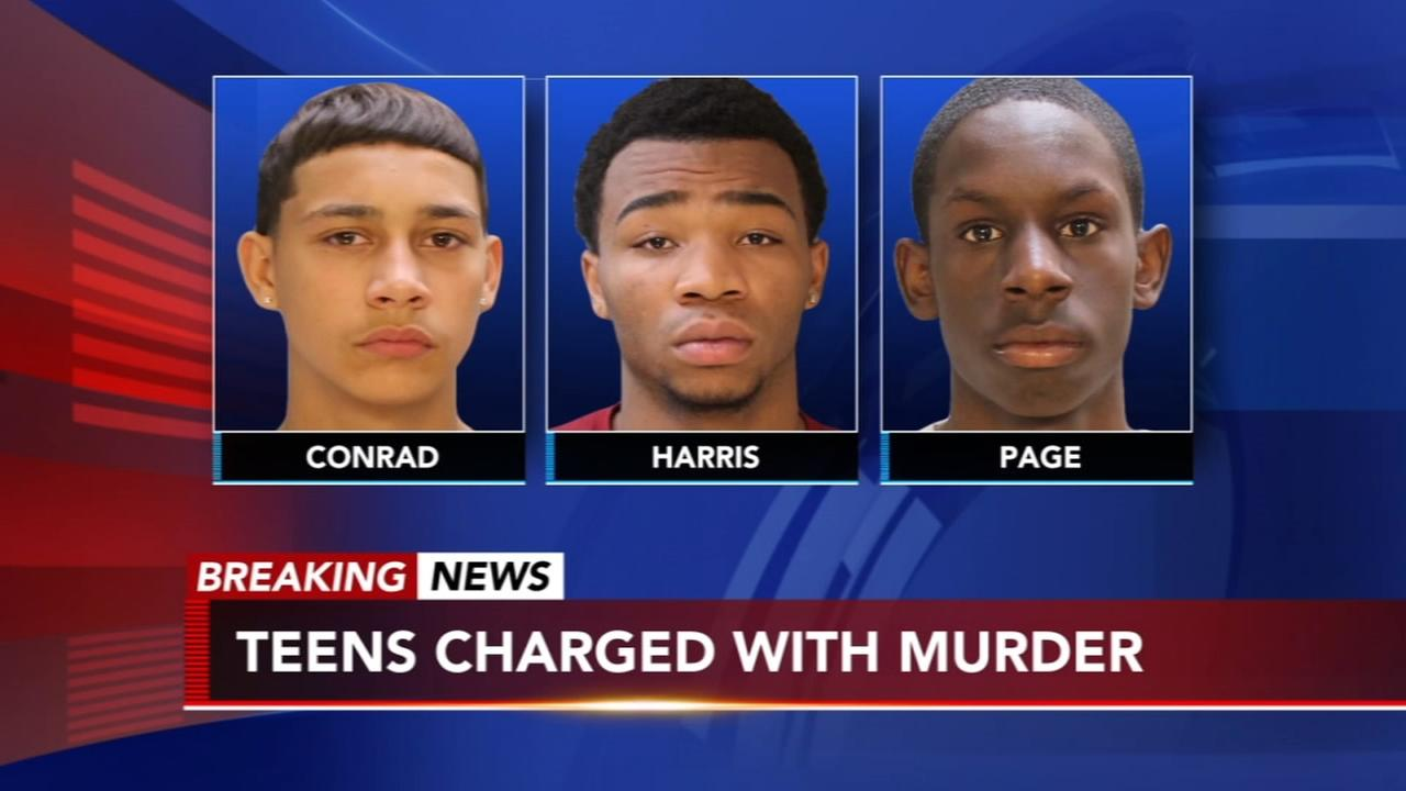 3 teens charged with murder in Mayfair beating death