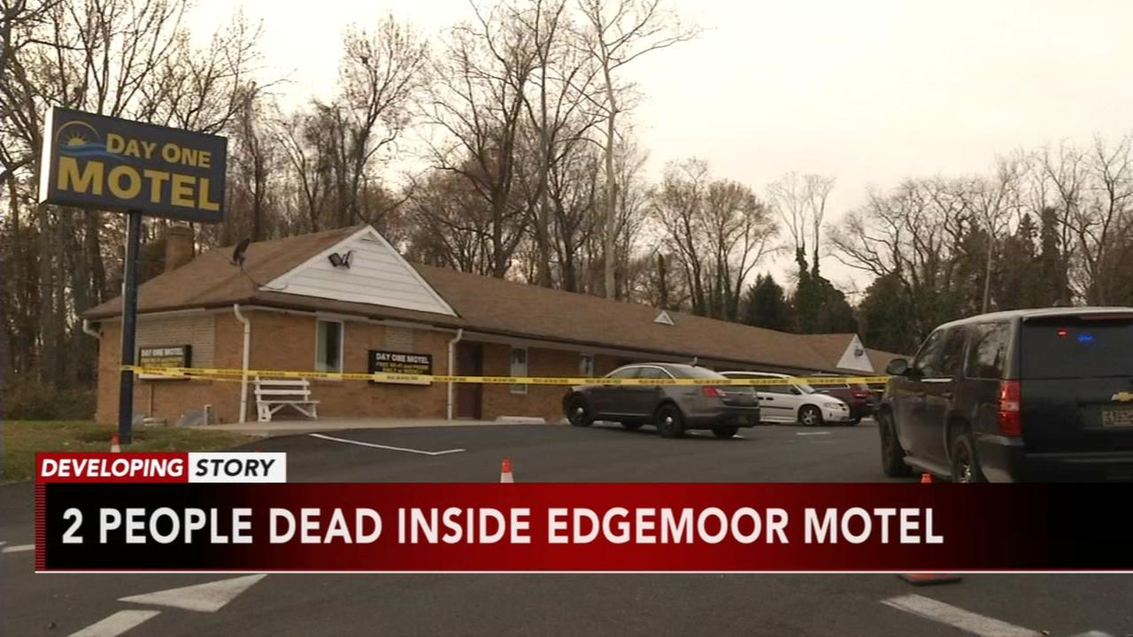 Police: 2 people shot, killed inside Delaware motel