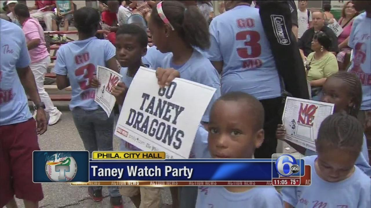 VIDEO: Philly still has Taney fever despite loss