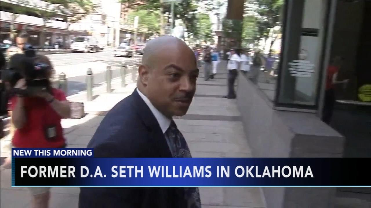 Seth Williams moved to federal prison in Oklahoma