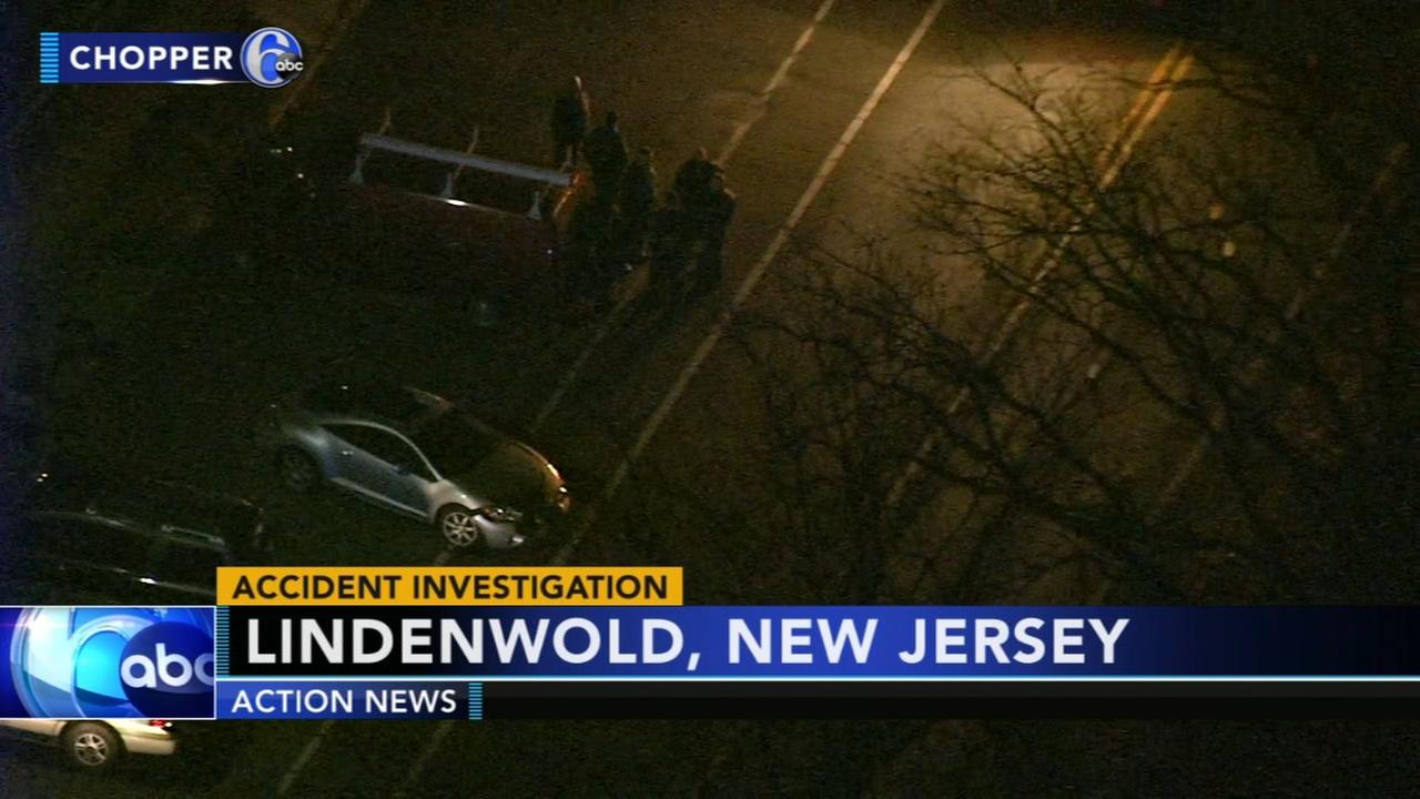 Crash injures 1 in Lindenwold