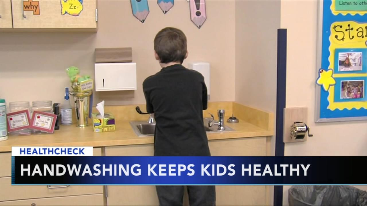 Hand washing can keep kids healthy this winter