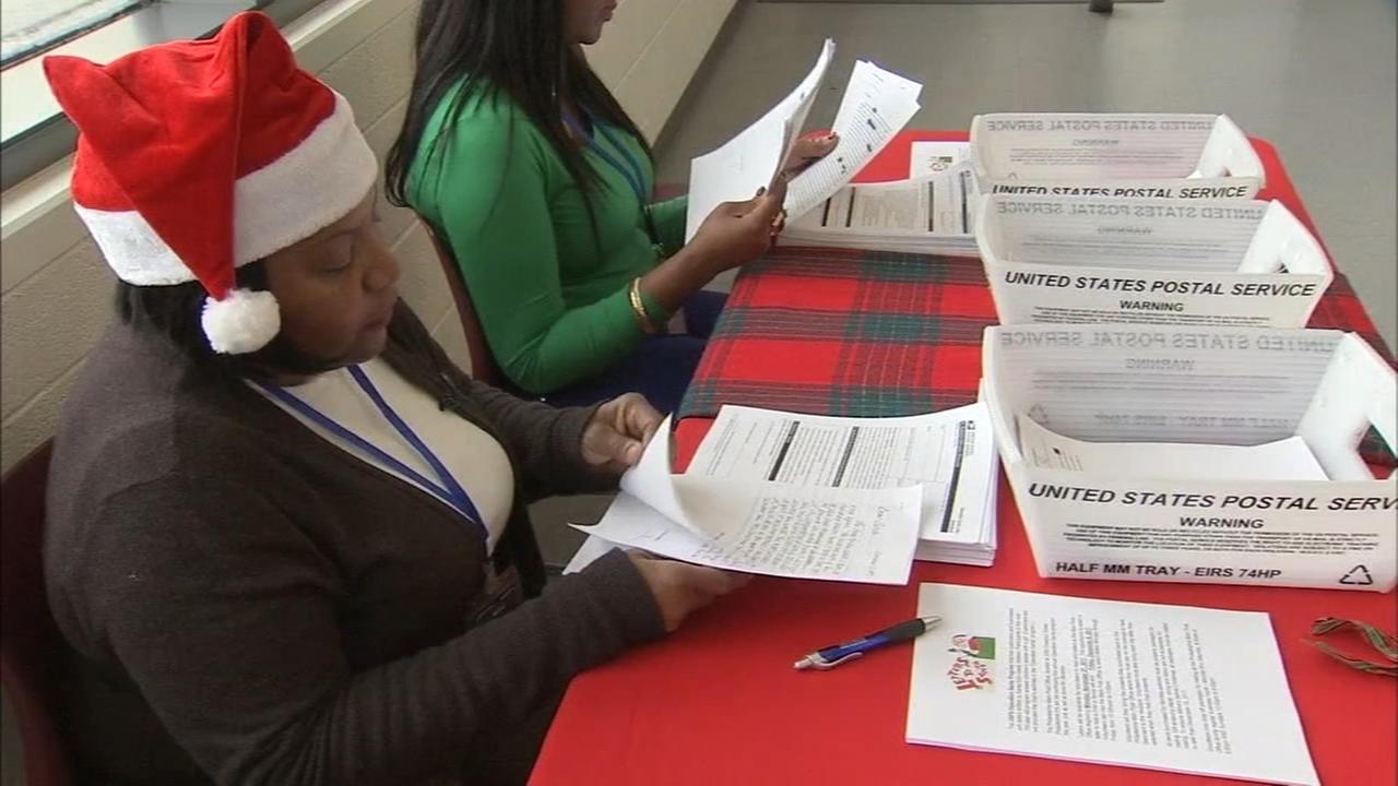 Operation Santa helps needy families in Philadelphia