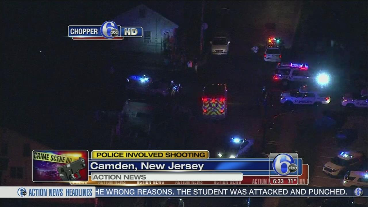 VIDEO: Man injured in police-involved shooting in Camden