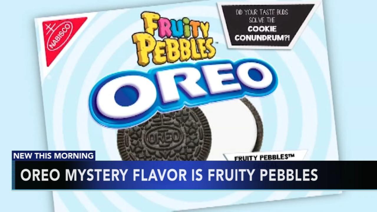 Oreo reveals mystery flavor