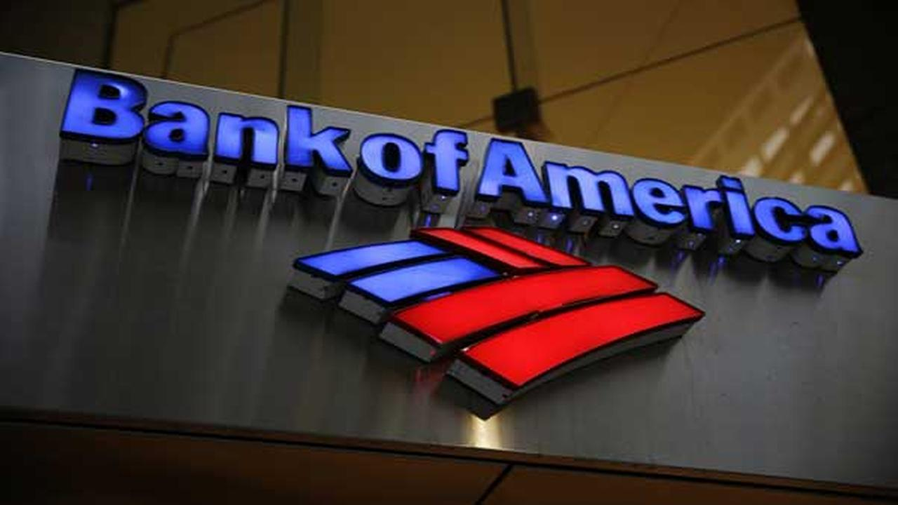 FILE - This Tuesday, Jan. 14, 2014 file photo shows a Bank of America sign in Philadelphia.
