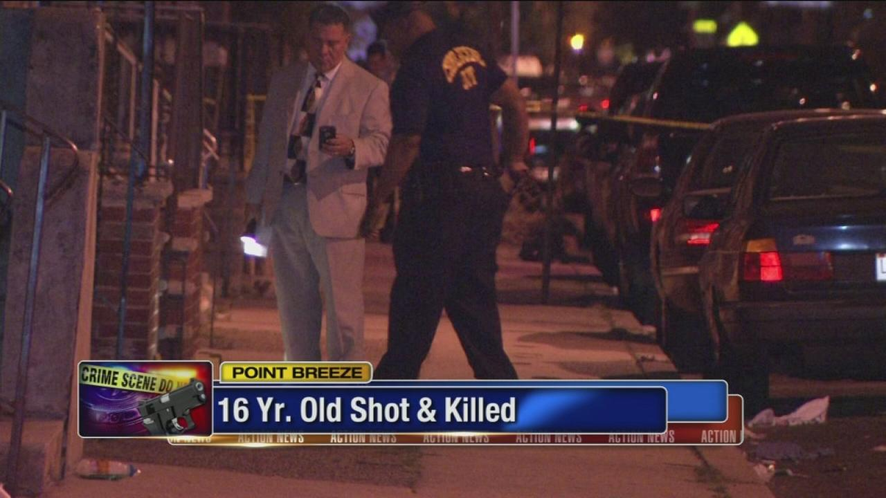 VIDEO: Teen shot in Point Breeze