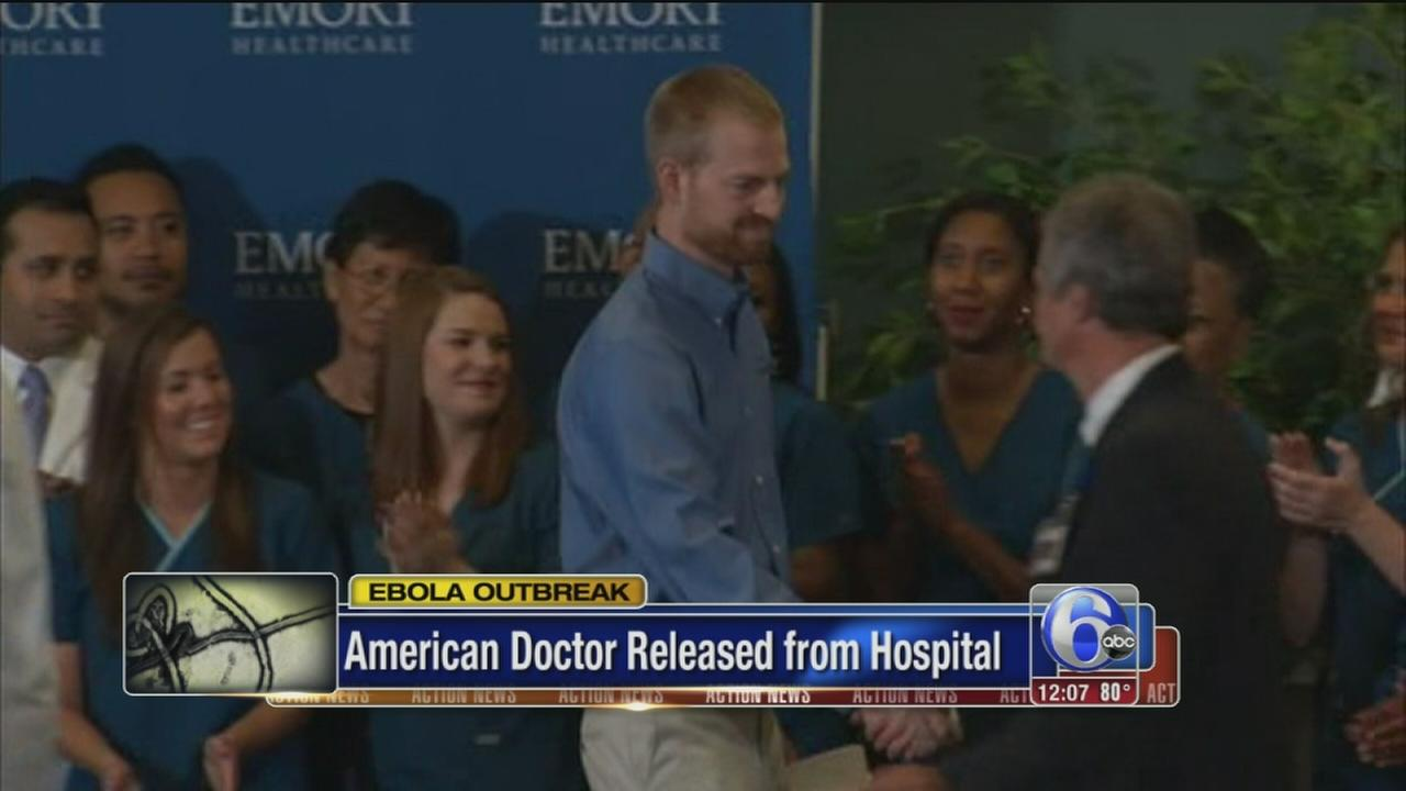 VIDEO: US doctor who had Ebola released