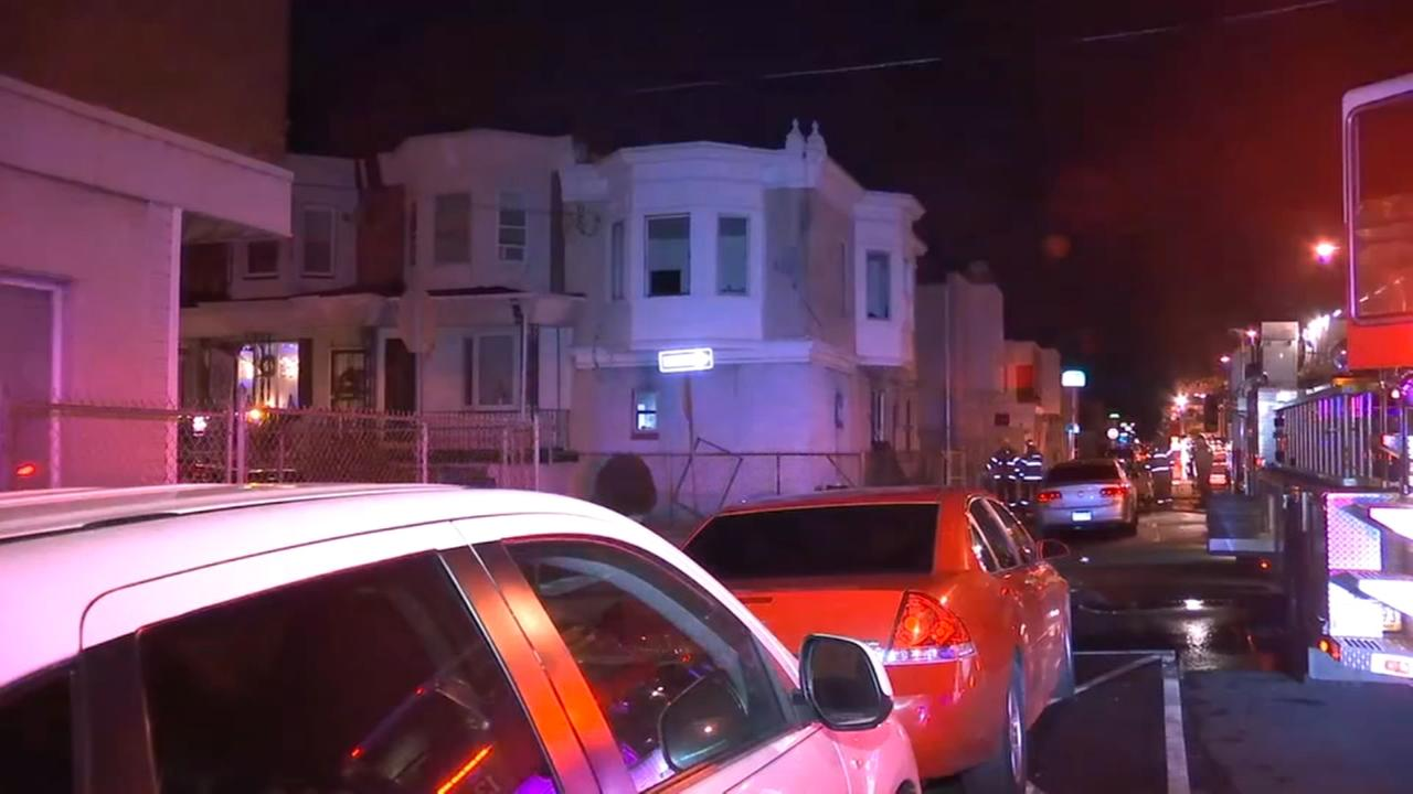 Fire damages home in West Philadelphia