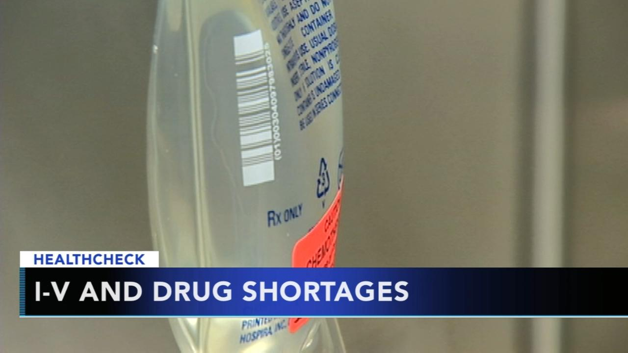Saline and IV fluid shortage has hospitals on guard