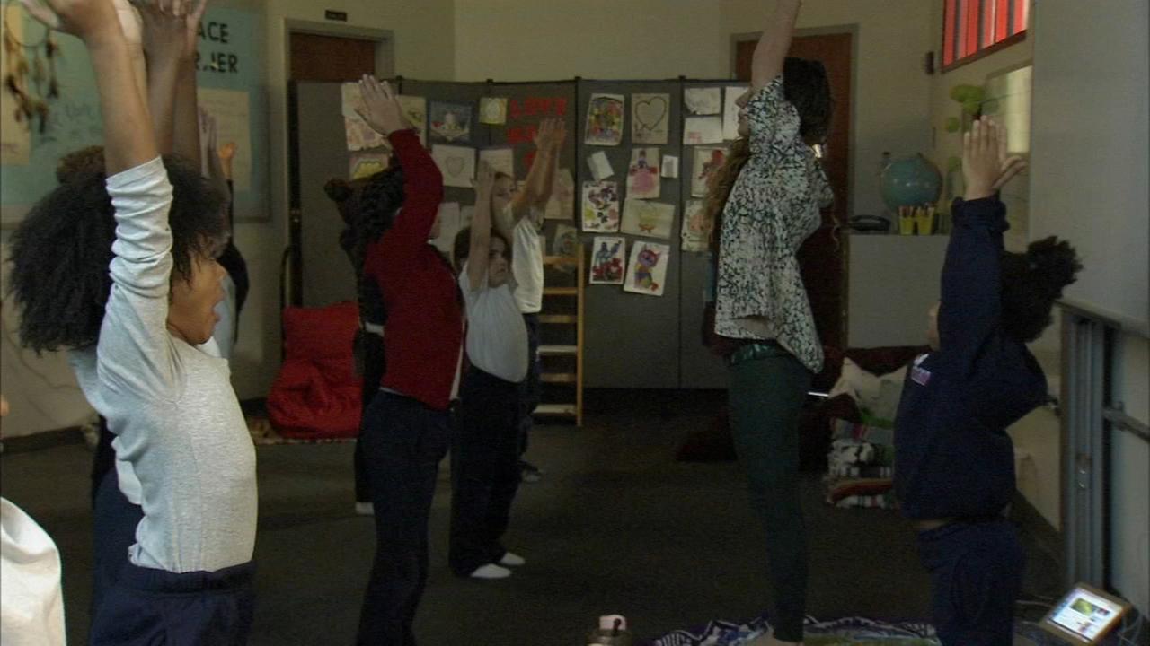 Phila. elementary school adds yoga to daily curriculum
