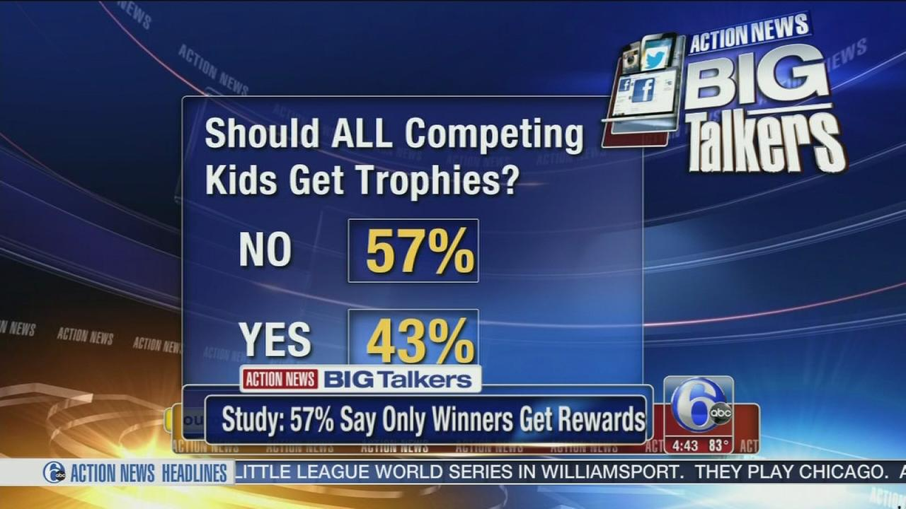 VIDEO: Should all kids get trophies, or just winners?